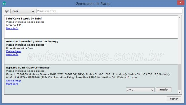 arduino_ide_BoardsManager_automalabs.com.br