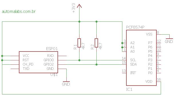 ESP-01_PCF8574_I2C
